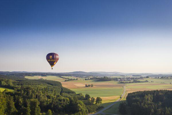Ballonfahrt auf der Schwäbischen Alb ©TMBW Dietmar Denger